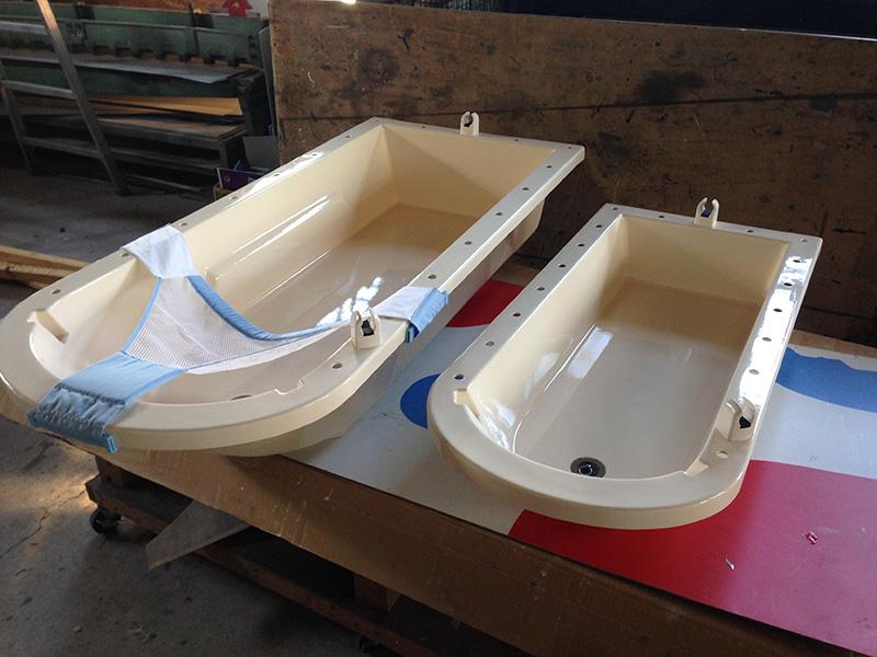 FRP 障害児施設用風呂桶